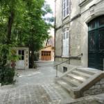Extérieur de la Chambre d'hôtes au fil de Troyes dans l'Aube